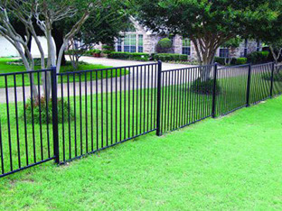 Express specializies in installing metal fences.