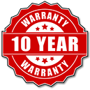 Our 10 year warranty for metal fences.